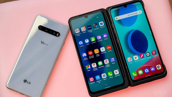 review of LG V60 ThinQ