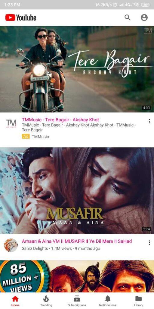 Youtube Vanced latest version apk