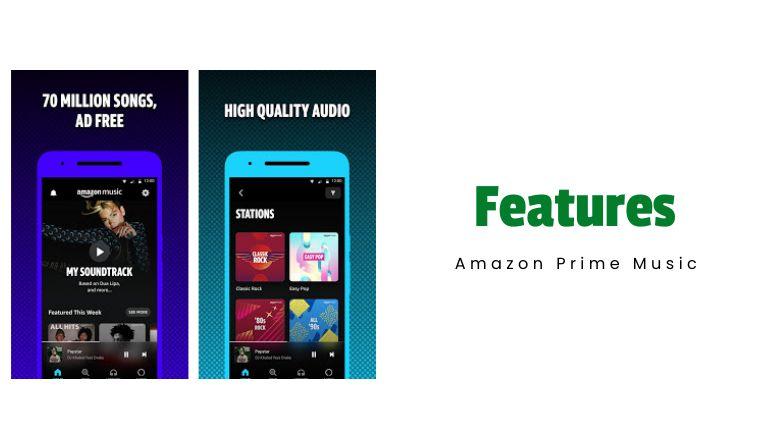 Amazon Music Mod features