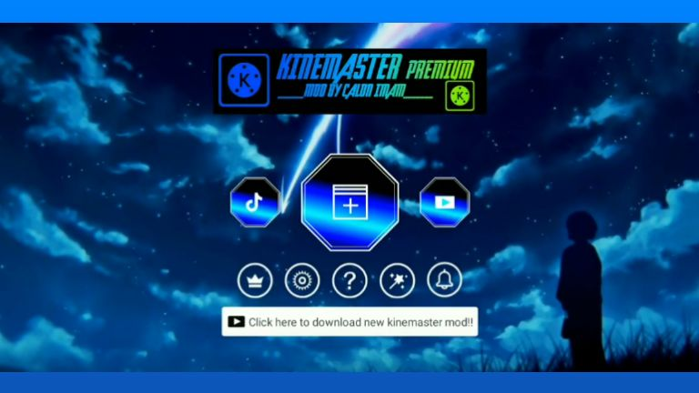 Kinemaster Blue APK