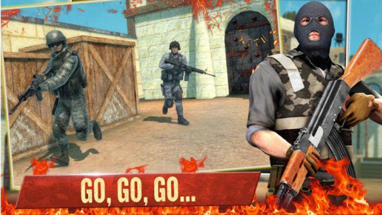 FPS Commando Secret Mission Mod