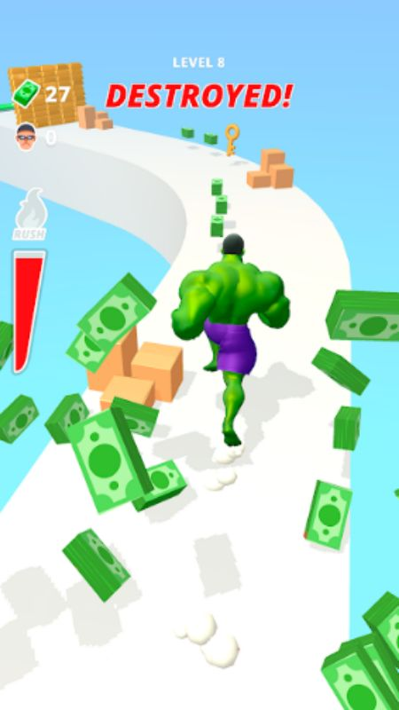 Muscle Rush unlimited cash
