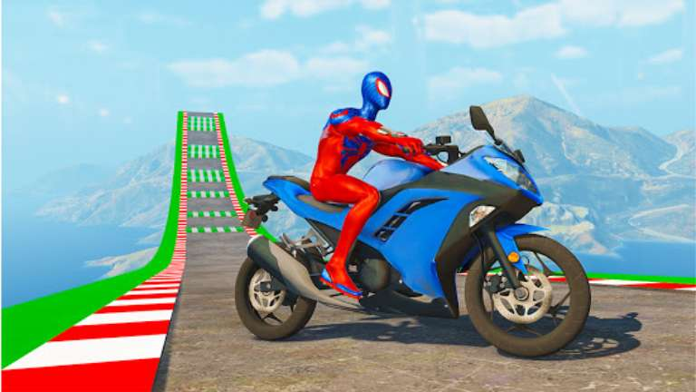 Superhero Bike Stunt GT Racing MOD