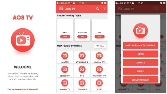 AOS TV APK for Android