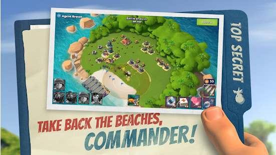Boom Beach APK God Mod