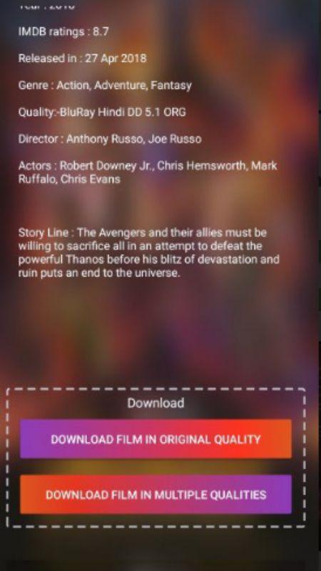 FilmyFy MOD APK Android