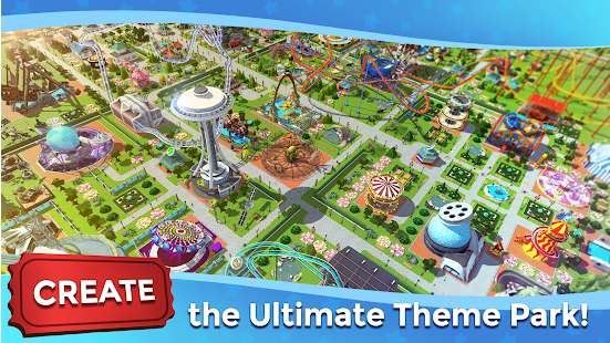 RollerCoaster Tycoon Touch MOD No Ads