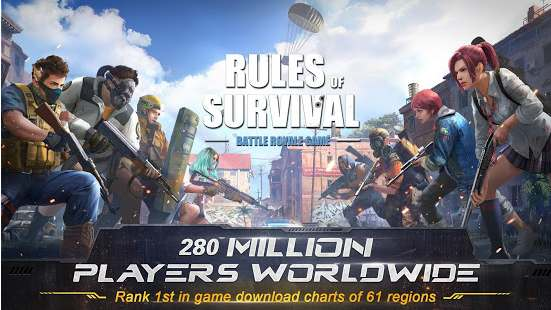 Rules of Survival APK Unlimited Money