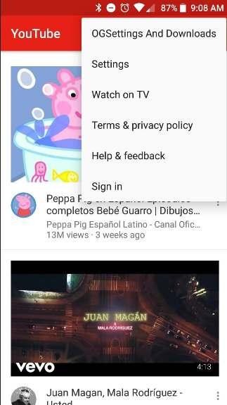 OGYouTube APK No Ads